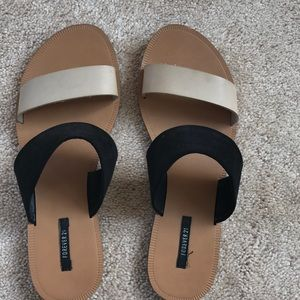 Forever 21 size 7 sandals